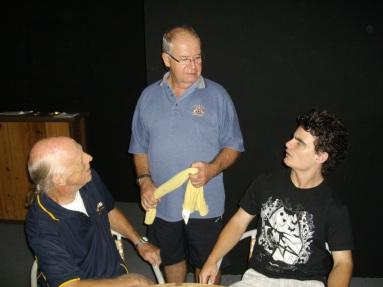 Stuart Darlington, Joe Clutterbuck, Michael Duncan