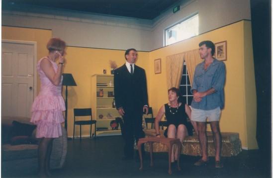 Maureen, John, Bronwyn, Peter