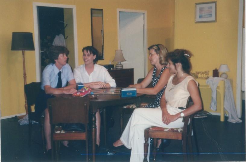 Sue, Ilana, Maya, Donna